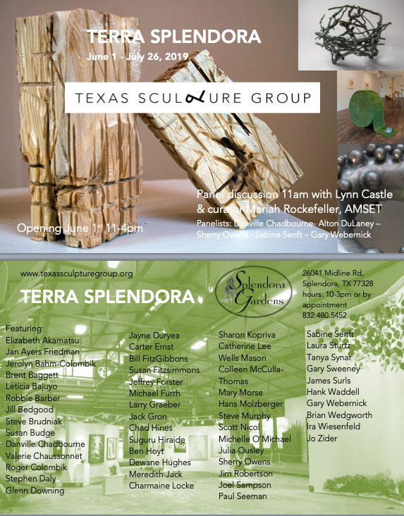 Texas Sculpture Group — By and for sculptors
